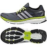 adidas(アディダス) ランニングシューズ energy boost メンズ ダークオニックス/シルバー 10 28