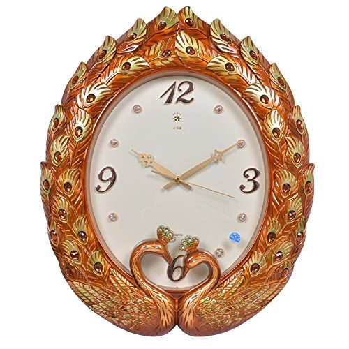WYMBS European-style living room wall clock ,B