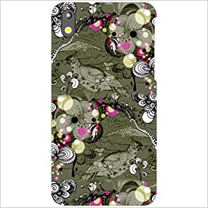 HTC Desire 816 Back Cover - Grey Designer Cases