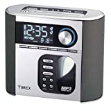 Timex T617S Nature Sounds Auto Set CD Clock Radio with Smart Knob Tuning and MP3 Line In (Silver) (Discontinued by Manufacturer) ~ Timex