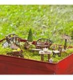 Miniature Fairy Garden Furniture, 10,Piece Set