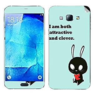 Theskinmantra Both Clever Samsung Galaxy A8 mobile skin