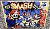 Super Smash Bros N64 Vintage Game Box 2x3 Fridge Locker MAGNET Nintendo