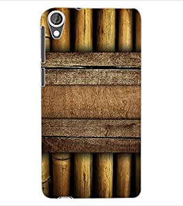 ColourCraft Bamboos Pattern Design Back Case Cover for HTC DESIRE 820