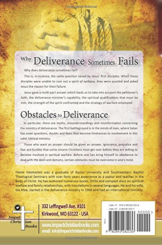 Obstacles to Deliverance - Why Deliverance Sometimes Fails (The Frank Hammond Booklet Series)