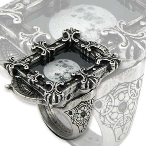 Alchemy Empire: Steampunk Moon Phase Optimiser Ring