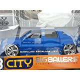 2002 Cadillac Escalade EXT 1:18 Scale Die-Cast Vehicle - White ~ Dub City