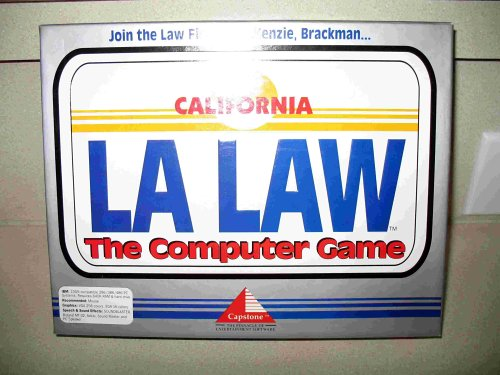 LA LAW - The Computer Game