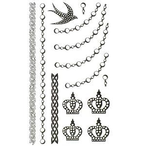 Amazon.com : GGSELL King Horse jewelry waterproof tattoo