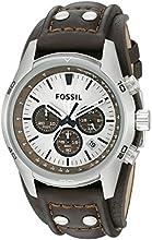 Comprar Fossil CH2565 - Reloj analógico de cuarzo para hombre con correa de piel, color marrón
