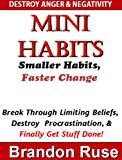 Mini Habits:  Smaller Habits, Faster Change Break Through Your Limiting Beliefs,  Procrastination, & Finally Get Stuff Done