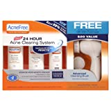 Acnefree 24 Hour Acne Clearing System with Free Cleansing Brush, 10.4 Ounce