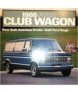 1986 Ford Econoline Motorhome http://www.amazon.com/Ford-Econoline-Brochure-Literature-Options/dp/B0007KJW3O