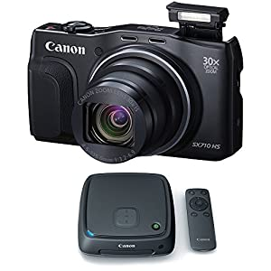 Canon PowerShot SX710 HS 20.3MP HD 1080p Black Digital Camera Connect Station Bundle includes PowerShot SX710 HS Digital Camera and CS100 Connect Station 1TB Storage Hub