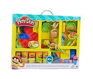 play doh chef supreme play kitchen set toys games. Black Bedroom Furniture Sets. Home Design Ideas
