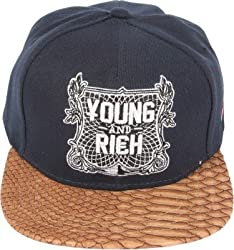 ILU Young and Rich Snapback Cap For Kids ( 2 to 12 years Kids)