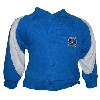 NBA Boys Orlando Magic Button Down Sweatshirt Jacket by NFL