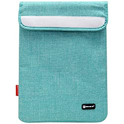 Sheng Beier 11inch Padded Light Weight Sleeve Bag for Apple iPad, Lenovo Tab 2 A7-10, iBall Slide and other 10in Tablets (Blue)