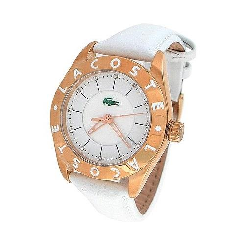 Women's Biarritz White Leather