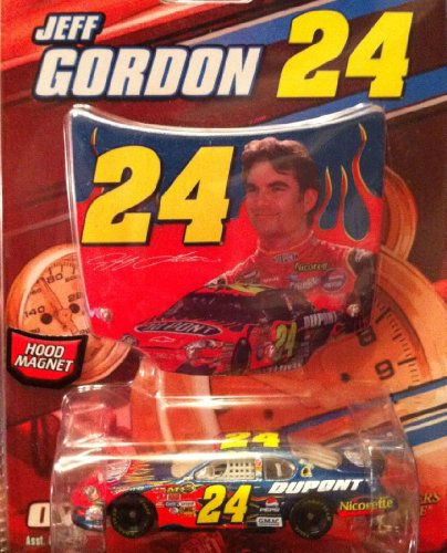 Winner's Circle Jeff Gordon hood magnet and die cast car - 1