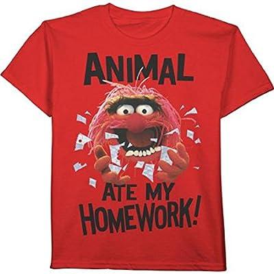 Muppets Animal Ate My Homework Boys Shirt