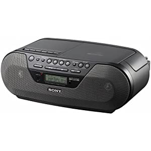 Sony Radio CD MP3 Cassette Stereo Boombox w/ Remote