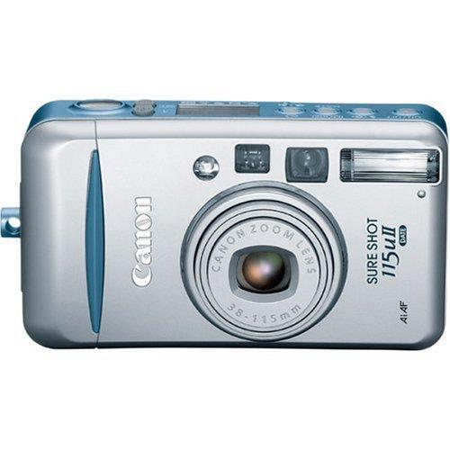 51DEW2MJDML Canon Sure Shot 115u II Date 35mm Film Camera Package