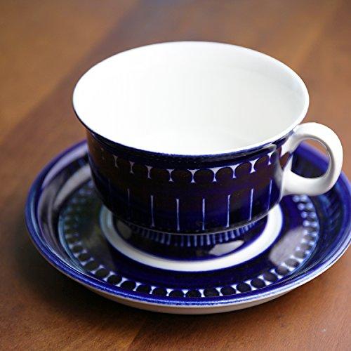 北欧ヴィンテージ フィンランド/ARABIA (アラビア)/Valencia(バレンシア) コーヒーカップ・ソーサー
