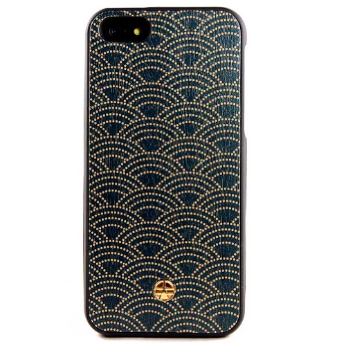 Anegre Yukata Japanese Kimono Wooden Case Iphone 5 & 5S Case Cover Original From Bante Yante - Wooden Imprinted Journal With A Handmade Wooden Cover front-52210