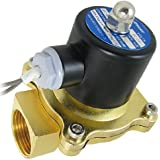 "Amico DC 24V 1"" Brass Thread Water Control Solenoid Valve"