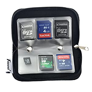 22 slots case pouch holder for memory card SD card