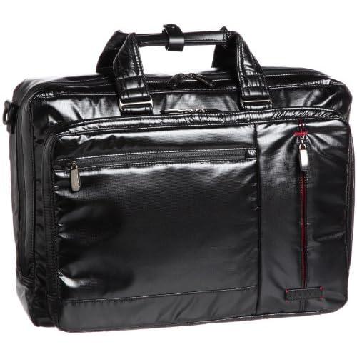 [バジェックス] BAGGEX ハイガード 軽量ビジネスバッグ シングルタイプL B4ファイル対応 ショルダー付 23-5539 BK (BLACK)