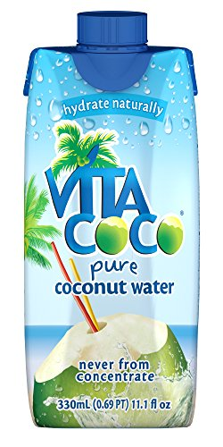 Vita Coco 100% Pure Coconut Water, 11.1-Ounce Containers (Pack of 12) (The Juice Standard compare prices)