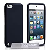 iPod Touch 5G 5 Silicone Case Blackby Yousave Accessories
