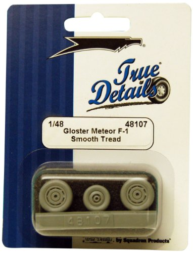 True Details Gloster Meteor F-1 Wheel Set