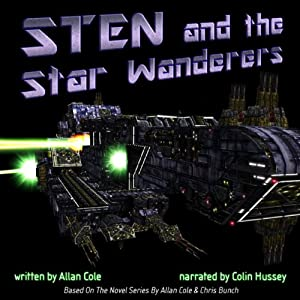Sten and the Star Wanderers | [Allan Cole]