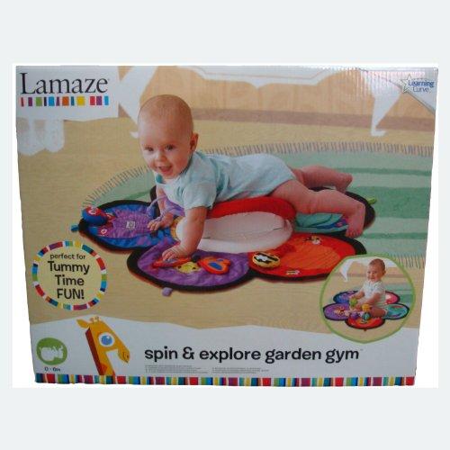 "Lamaze LC27100 - Gimnasio de jardín ""Gira y Explora"""