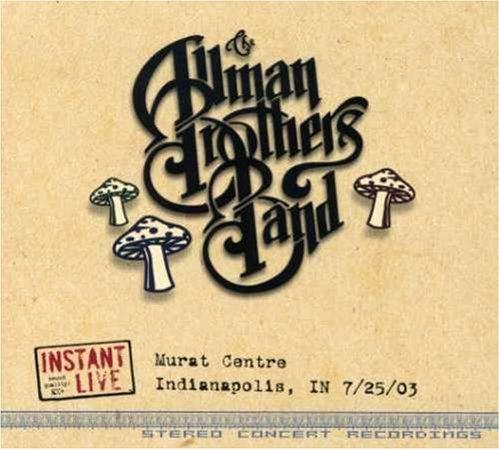- Instant Live: Murat Centre - Indianapolis, IN, 7/25/03 - Zortam Music