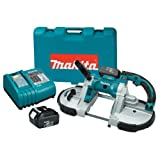 Makita BPB180 18-Volt LXT Lithium-Ion Cordless Portable Band Saw Kit