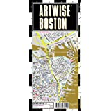 Artwise Boston Museum Map - Laminated Museum Map of Boston, Massachusetts: Folding Pocket Size Travel Mapby Streetwise Maps