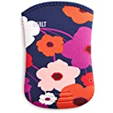 BUILT Neoprene Kindle Slim Sleeve Case, Lush Flower, fits Kindle Paperwhite, Touch, and Kindle