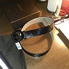 Black Imprime Gucci Belt