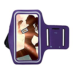 Note5 Note4 S7 Edge S6 Edge Plus Armband DRUnKQUEEn® for Samsung Galaxy Note 5 / Note 4 / S7 Edge / S6 EdgePlus, Sports Running Arm Band for Cellphone Fits Galaxy J7 A8 Smartphone