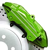 High Temperature High Gloss Self Leveling Brush On LIME GREEN G2 Brake Caliper Paint System Kit