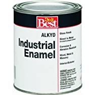 -W50R00812-44Do it Best Alkyd Industrial Enamel-GLS OSHA RED ALKYD PAINT