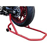 BIKETEK REAR PADDOCK STAND SERIES 2 RED HEAVY DUTY