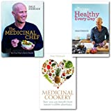 Dale Pinnock Dale Pinnock Collection 3 Books Set, (The Medicinal Chef: Eat Your Way to Better Health, The Medicinal Chef Healthy Every Day & [PAPERBACK] Medicinal Cookery: How You Can Benefit From Nature's Edible Pharmacy)
