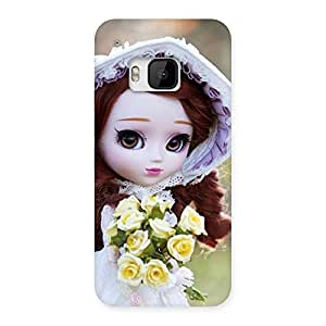 Cute Bride Angel Doll Multicolor Back Case Cover for HTC One M9