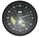 MFJ-105D Clock, 24-hour analog