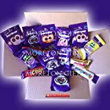 Cadbury Treats Box - Buttons, Chomp, Freddo, Curlywurly, Fudge, Crunchie - By Moreton Gifts - Great Birthday Gift